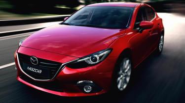 New Mazda 3 red