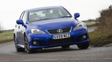 Lexus IS-F front action