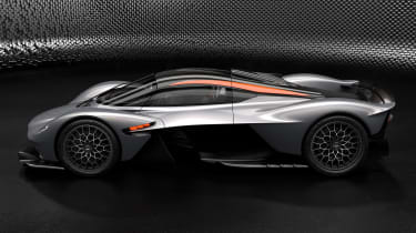 Aston Martin Valkyrie Q by AM - silver side