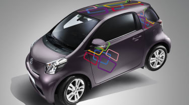 Toyota iQ gets Creative FX treatment