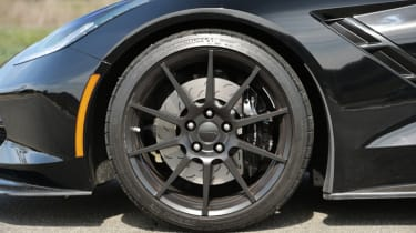 Hennessey's 700bhp Corvette Z06 alloy wheel