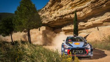 WRC Rally Catalunya - i20