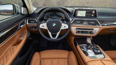 2019 BMW 7-series - dash