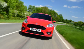 Ford Fiesta ST-Line UK - nose