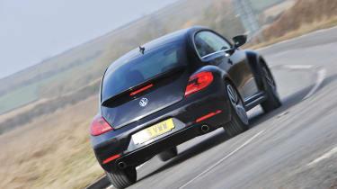 2013 Volkswagen Beetle Turbo Silver rear