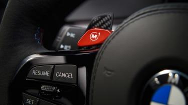 BMW M5 CS - button