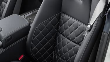 Mercedes SLS AMG GT Final Edition quilted leather seats
