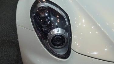 Alfa Romeo 4C Spider new headlight