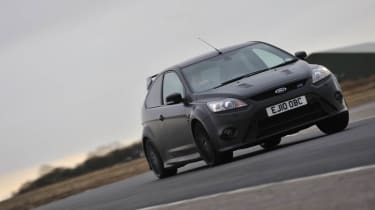 Ford Focus RS500 on track