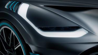 Bugatti Divo - headlight