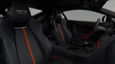 Aston Martin Vantage Red Bull Racing - interior