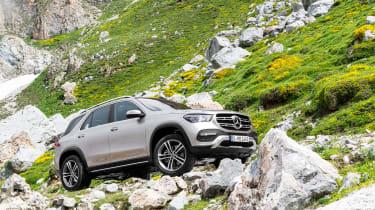 new Mercedes-Benz GLE - static