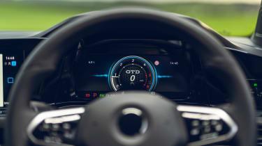 Volkswagen Golf GTD 2021 review - dials