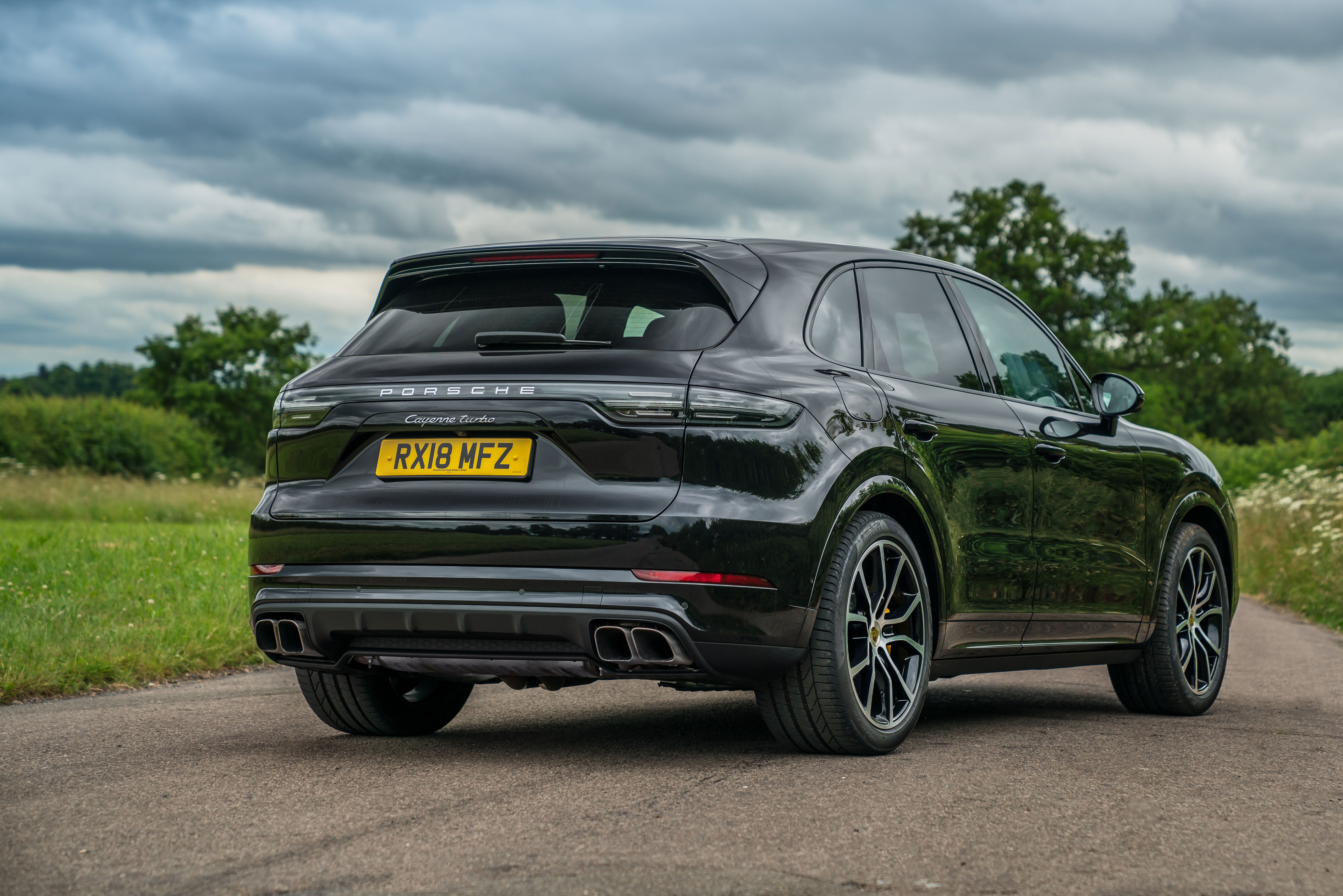 Porsche Cayenne Turbo 2018 Review Behaves Like No Suv