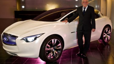 New small Infiniti to be built in the UK