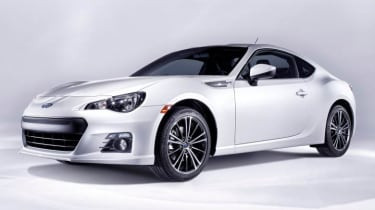 Subaru BRZ rear-drive coupe