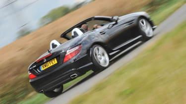 Mercedes-Benz SLK 250 CDI AMG Sport rear cornering
