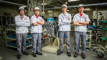 Nissan GT-R: top ten facts Takumi engine builders