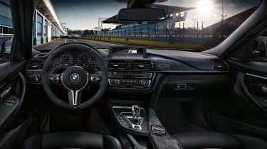 BMW M3 CS  – interior