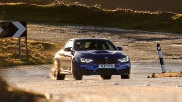 R8 RWS vs BMW M4 CS - sliding M4