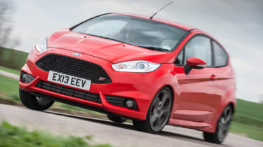 Ford Fiesta ST red front