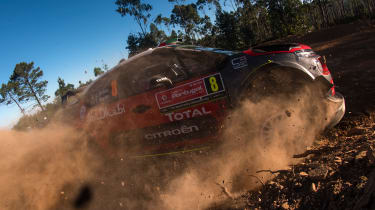 WRC Rally Portugal 2017 - Citroen C3