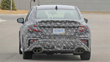 2021 Subaru WRX spied - tail