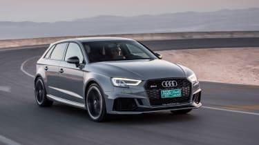 Audi RS3 Sportback Grey front 5
