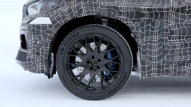BMW X5 M spies – wheel