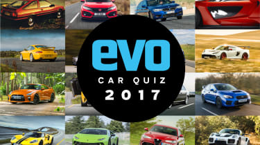 evo car quiz 2017