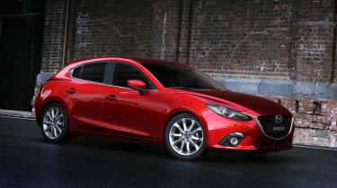 New Mazda 3 side profile