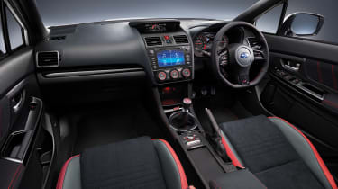 Subaru celebrates final WRX STI interior