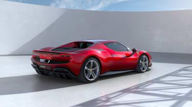 2022 Ferrari 296 GTB – rear quarter