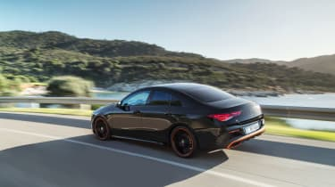 Mercedes CLA 2019 revealed - rear quarter