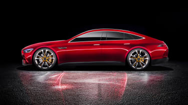 Mercedes-AMG GT Concept static profile