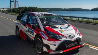 WRC Rally Finland - Yaris 2