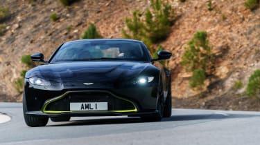 Aston Martin Vantage - black front