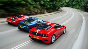 Hero Ferrari triple