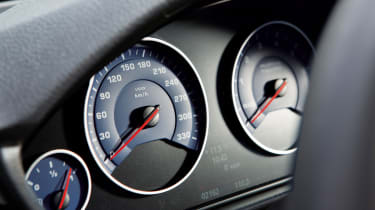 Alpina D3 Bi-Turbo gauges