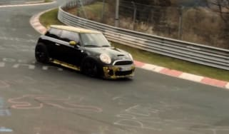 Mini John Cooper Works GP Nurburgring video