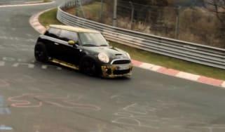 Mini John Cooper Works GP Nurburgring video