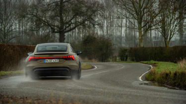 Audi RS e-tron GT evo - rear cornering