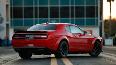 Dodge Demon rear static