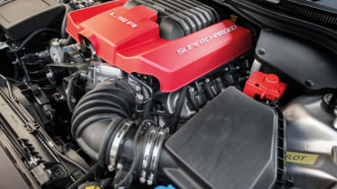 Vauxhall VXR8 GTS supercharged V8 engine