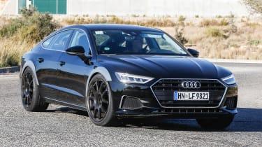 Audi RS7 spy - turning
