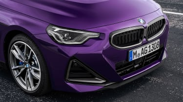 BMW 2-series 2021 – front end