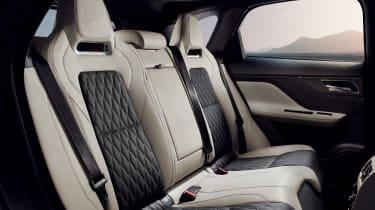 Jaguar F-Pace SVR - rear bench