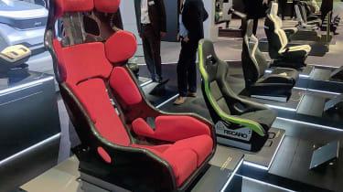 Recaro Racing Shell concept - 2017 Frankfurt motor show