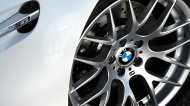 BMW M3 Competition wheel close