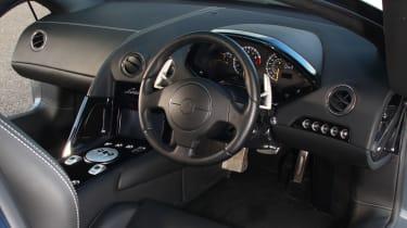 Lamborghini Murcielago LP640 cockpit